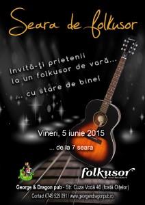 Afish 5 iunie folkusor de vara