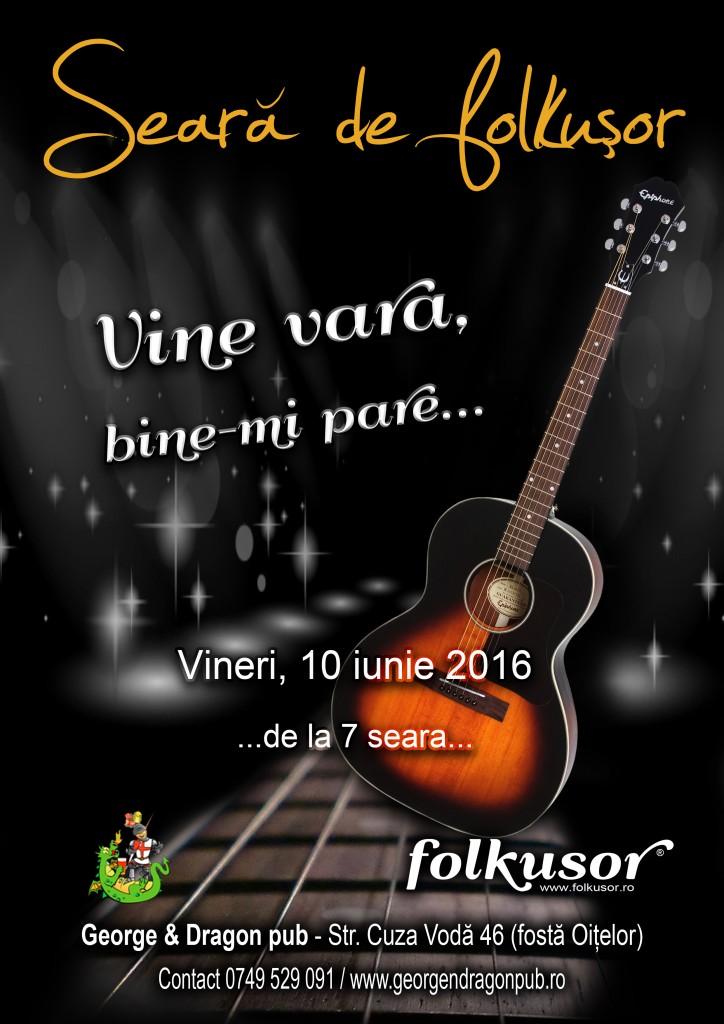 Seara folkusor 10 iunie 2016